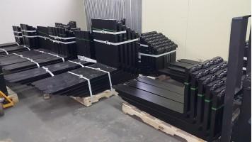 ВИЛЫ Класс каретки 2А для погрузчиков грузоподъёмностью от  1000 до 2500 кг
